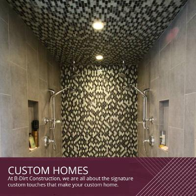 Custom Tastes for Custom Homes