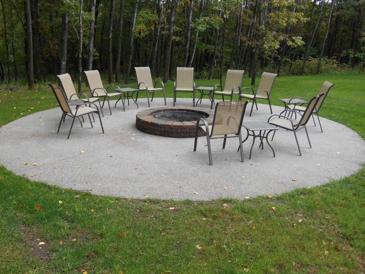 Custom Built Fire Pit - A Great Outdoor Addition