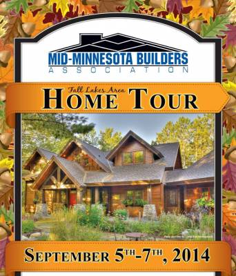 Mid-Minnesota Builders Association Fall Lakes Area Home Tour – B-Dirt Home #7