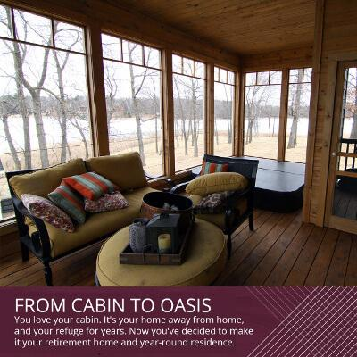 From Cabin to Oasis